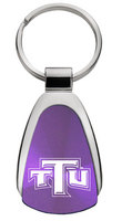 Teardrop Engraved Key Tag