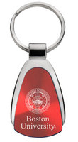 Boston Terriers Tear Drop Key Tag