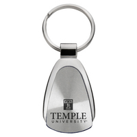 Temple Tear Drop Key Tag
