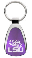 LSU Tigers Tear Drop Key Tag