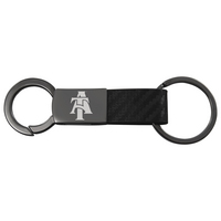 Carbon Fiber Metal Key Tag