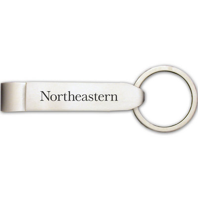 Northeastern Huskies Bottle Opener Keychain