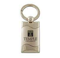 Temple Wave Keychain