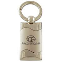 Southern Mississippi Eagles Wave Keychain