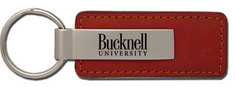 Bucknell Leather Strip Key Tag