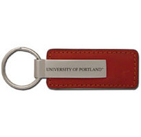 Leather Strip Key Tag