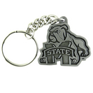 Mississippi State Bulldogs Keychain