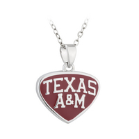 Tear Drop Texas A&M Pendant