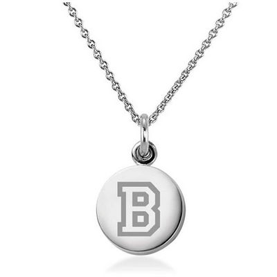 M.LaHart Sterling Silver Necklace with Silver Charm