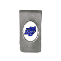Crystal Coat Cameo Money Clip