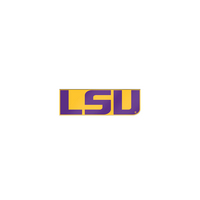 LSU Tigers Brass Lapel Pin