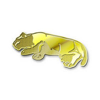 Penn State Nittany Lions Brass Lapel Pin