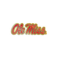 Ole Miss Brass Lapel Pin