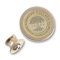 Gold Medallion Lapel Pin (Online Only)