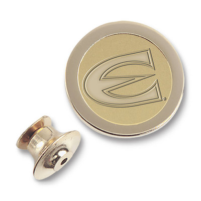 Gold Medallion Lapel Pin
