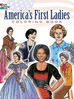Americas First Ladies, Coloring Book