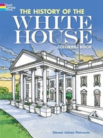 The History of the White House, Coloring Book