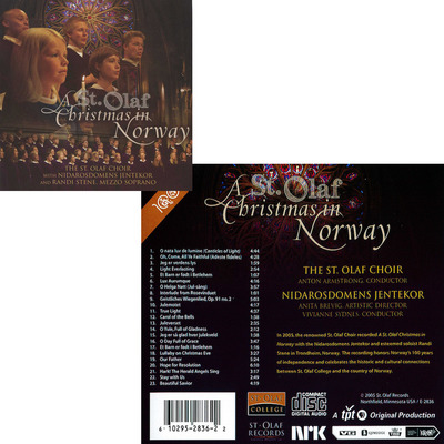 A St. Olaf Christmas in Norway CD