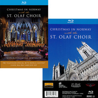 Christmas in Norway with the St. Olaf Choir BLURAY DVD