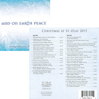 St. Olaf Christmas Festival 2015 And on Earth Peace CD
