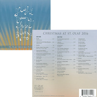 St. Olaf Christmas Festival 2016 Light Dawns, Hope Blooms CD