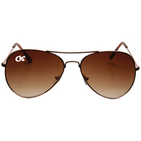 Amber Aviator Shades