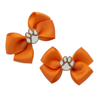 Mini PinWheel Bow Clip