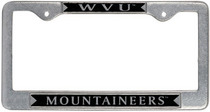 WVU Mountaineers License Plate Frame