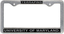 University of Maryland License Plate Frame
