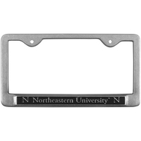 Northeastern Huskies License Plate Frame