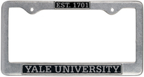 Yale Bulldogs License Plate Frame