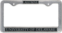 Delaware Blue Hens License Plate Frame