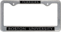 Boston Terriers License Plate Frame