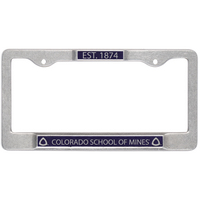 Carson by Jardine License Plate Frame