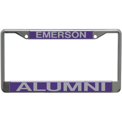 Barnes & Noble @ Emerson College Bookstore - Alumni License Plate Frame