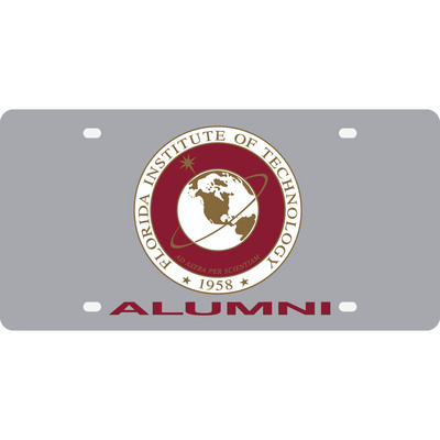 Acrylic Alumni License Plate Tag