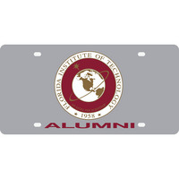 Stockdale Acrylic Alumni License Plate