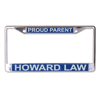 Stockdale Acrylic License Plate