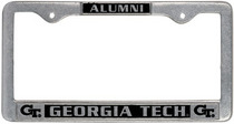 Georgia Tech Alumni License Plate Frame