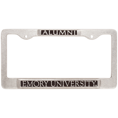 B&N at Emory Bookstore - Emory Eagles Alumni License Plate Frame