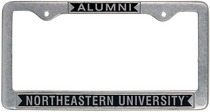 Northeastern Huskies Alumni License Plate Frame