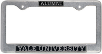 Yale Bulldogs Alumni License Plate Frame