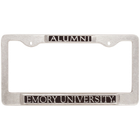 Emory Eagles Alumni License Plate Frame