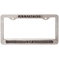 Ole Miss Alumni License Plate Frame