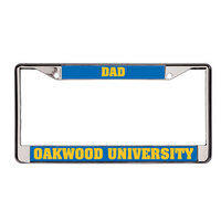Colormax Chrome License Frames Dad