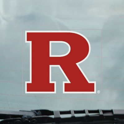 Rutgers Scarlet Knights Static Cling Decal