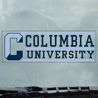 Columbia University Static Cling Decal