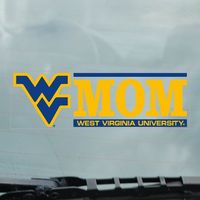 WVU Mountaineers Static Cling Decal