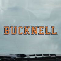 Bucknell Static Cling Decal