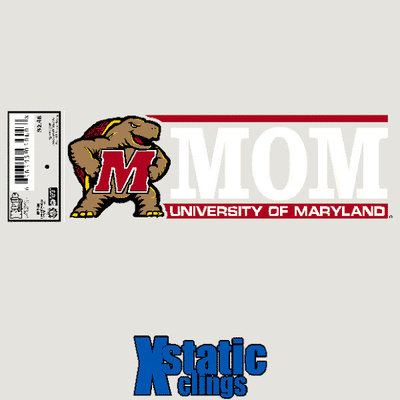University of Maryland Static Cling Decal